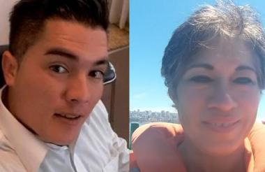 Juan Guillermo Valderrama y Ilse Amory Ojeda.