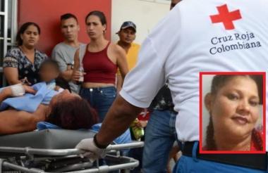 La mujer fallecida cuando era remitida el pasado 2 de abril al hospital General de Barranquilla.