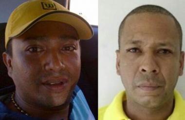 Leonid García Ufre, alias Lucho Cájaro, y Luis Rafael Domínguez Cerpa, alias Lucho Amor, capturados.