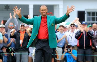El golfista estadounidense Tiger Woods ganó recientemente el Masters de Augusta.
