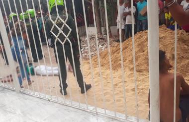 Wlmer Alvarado Macías, alais Billete, fue asesinado en la carrera 13D con calle 57,barrio La Inmaculada.
