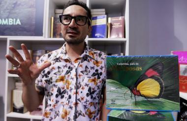 Indiana Cristóbal Ríos-Málaver, uno de los autores del libro.