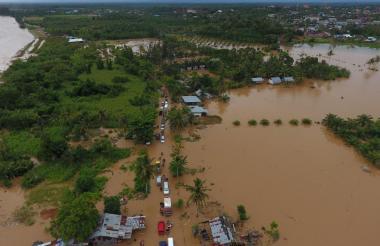 Miles de personas fueron evacuadas.