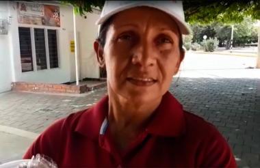 Venezolana radicada en Valledupar.