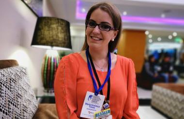 Verónica Flores, paciente de esclerodermia en remisión hace 3 años y líder de la organización de Ecuador.