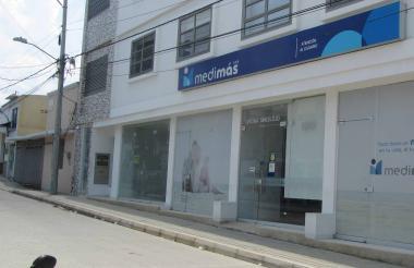 Desde esta sede en Sincelejo, Medimás autoriza todas las atenciones en salud para los usuarios de Sucre.