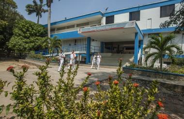 Fachada de la sede mental del Hospital Universitario Cari.