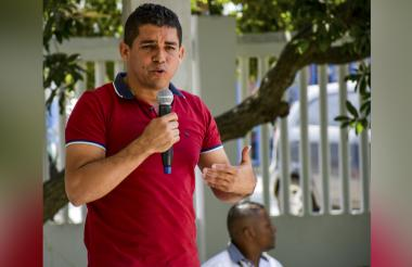 Steimer Alí Mantilla Rolong, alcalde de Puerto Colombia.