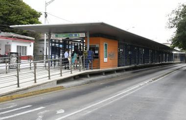 Estación de Transmetrro Alfredo Correa.