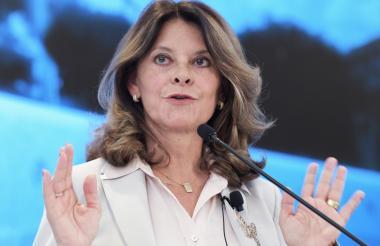 Vicepresidenta de Colombia.