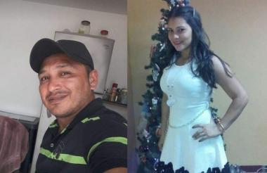 Jorge Eliécer Canchila y Roberta Ruth Contreras Ríos.
