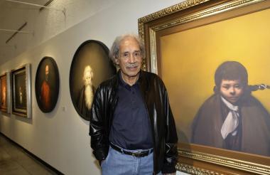 El pintor era yerno de Diego Rivera.