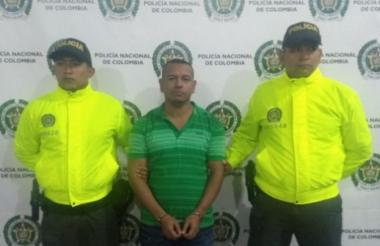 Olindo Perlaza Caicedo, alias Olindillo, capturado.
