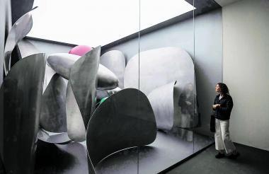 Instalación del artista chino Liu Wei en la 58º Bienal de Arte de Venecia.
