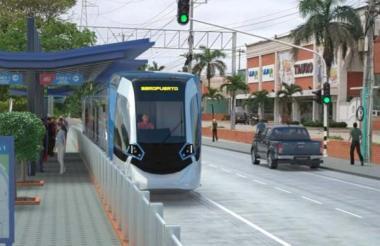 El proyecto contempla transportar 116 mil usuarios por día y 15 estaciones.