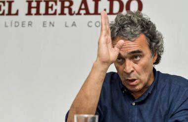 Sergio Fajardo, líder de Compromiso Ciudadano.
