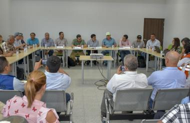Aspecto de la audiencia especializada que se llevó a cabo ayer en Barranquilla.