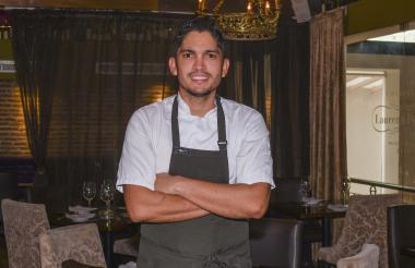 El chef Manuel Mendoza, creador de Cocina 33.