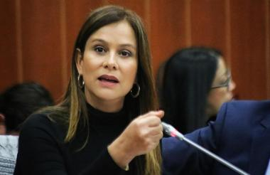 Senadora Maritza Martínez.