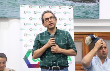 Ministro de agricultura en Montería.