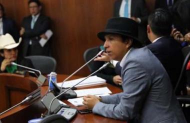El senador Jonathan Tamayo 'Manguito'.