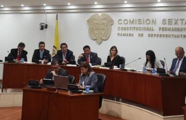 Comisión sexta de la Cámara de Representantes.