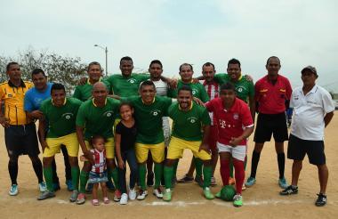 Real Betulia, equipo ganador de la semifinial de Villa Del Rosario.