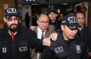 Fabio Augusto Martínez Lugo, fiscal capturado.