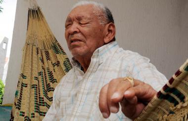 Leandro Díaz (1928-2013), uno de los grandes juglares del vallenato.