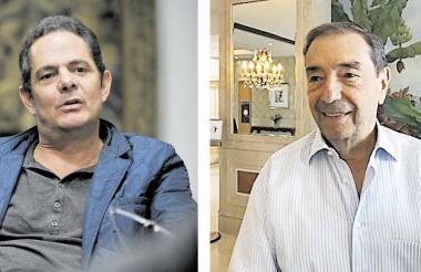 Germán Vargas Lleras y Fuad Char Abdala