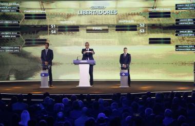 Sorteo de la Copa Libertadores 2019.