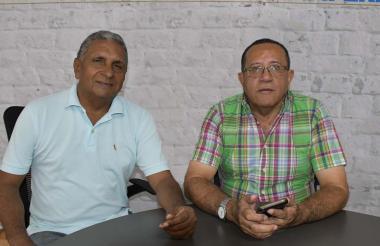 Alberto De la Cruz y Rafael Ortiz.