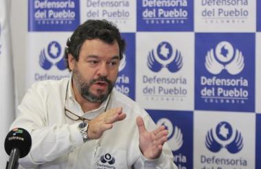 Carlos Alfonso Negret, Defensor del Pueblo.