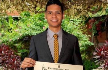 Cristian Camilo Julio Arteaga, médico asesinado.