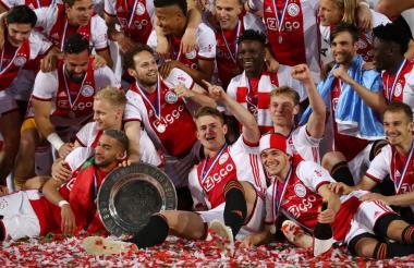 Ajax, campeón de la Liga de Holanda.