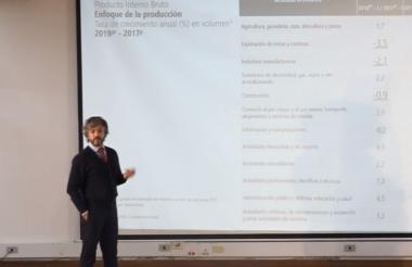 El director de Dane, Juan Daniel Oviedo.