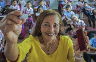 Margarita Rebolledo tiene 47 años educando niños y jóvenes de todas las edades.