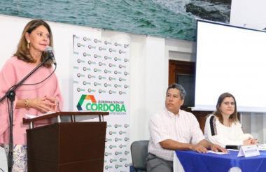 Martha Lucía Ramírez, vicepresidenta e Colombia.