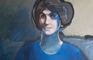 Obra de Freda Sargent que estará en el Mamb.