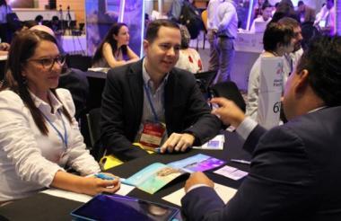 La ciudad colombiana que más reuniones fue Bogotá con 46.
