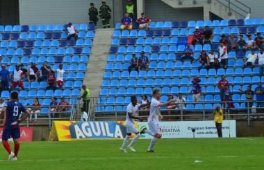 El venezolano Fernando Aristeguieta fue el autor de los goles del triunfo del América de Cali sobre Unión Magdalena.