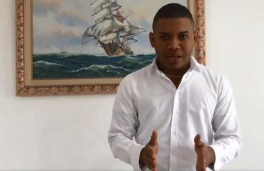 Miguel Polo Polo hizo pública su salida del Centro Democrático a través de un video que publicó en sus redes.