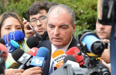 Aurelio Iragorri, presidente del Partido de la U y exministro.