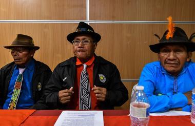 Indígenas guna de Panamá.