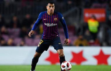 Jeison Murillo, defensa del Barcelona.