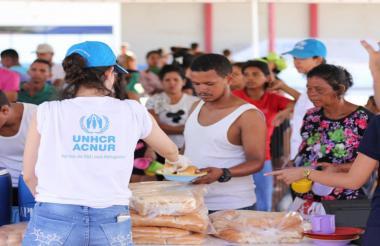 ACNUR pide protección internacional para venezolanos.