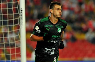 Juan Dinenno, goleador del Deportivo Cali.