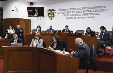 En la Comisión V de la Cámara de Representantes se realizó otro debate sobre Electricaribe.