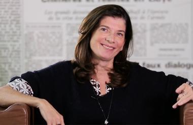 La conocida periodista del diario Le Monde, Ariane Chemin, conocida por sus investigaciones sobre un excolaborador del presidente Emmanuel Macron.
