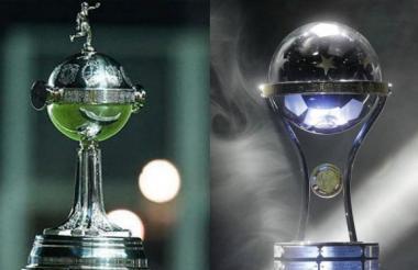 Copa Libertadores y Sudamericana.